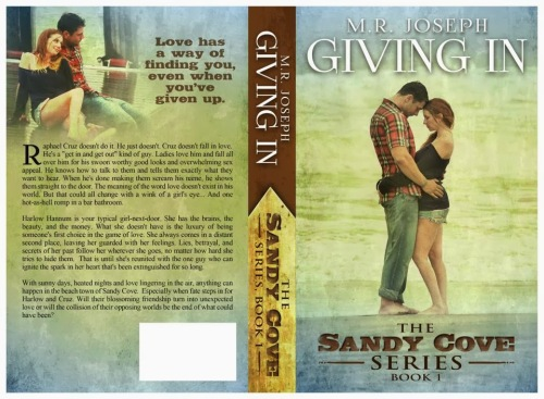 Giving In FULL WRAP COVER
