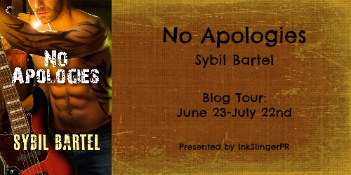 No Apologies Banner