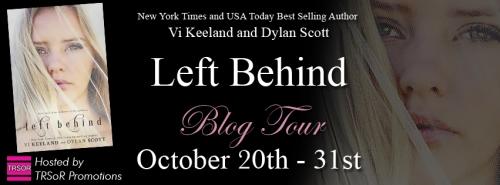 left behind blog tour