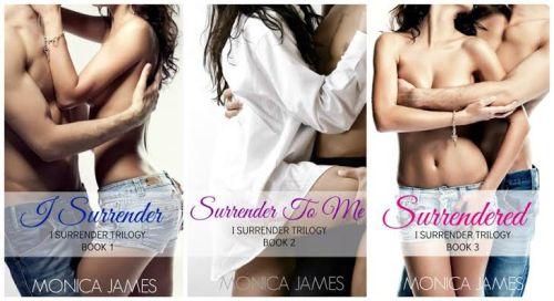 I surrender trilogy-covers